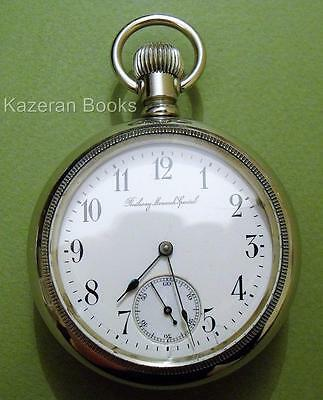 Antique Longines Railway Monarch Special Timekeeper Fob Pocket Watch Working