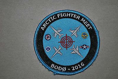 Rnoaf-Finaf Airforce F-16 Exercise ''arctic Fighter Meet 2016'' Patch