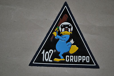 Italian Airforce F-104 Old Rubber Big  Patch
