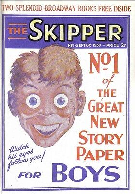 The Skipper Collection Of Boys Story Papers From The 1930-41 On Dvd