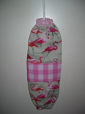 plastic bag holder /grocery bag holder/flamingo/water birds