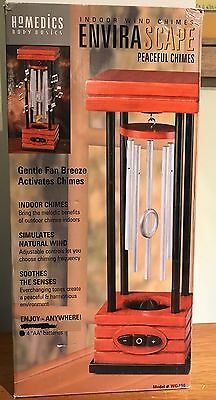 HoMEDICS ENVIRASCAPE Peaceful Chimes WC-150 battery indoor soothing SOUND table