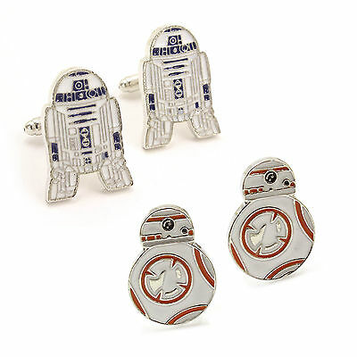 star wars r2d2 manschettenkn pfe eur 7 50 picclick de. Black Bedroom Furniture Sets. Home Design Ideas