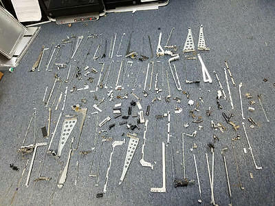 Mixed Lot of 160 Computer Laptop HINGES AND COVERS AS-IS 7.15 lbs
