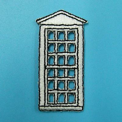 Door Window House Iron On Sew Patch Cute Applique Badge Embroidered Motif Sweet