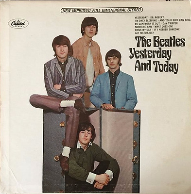 THE BEATLES - Yesterday And Today (LP) (EX+/VG)