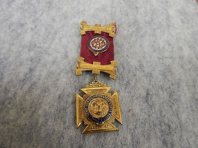 Raob Jewel/medal With Ribbon And Badge