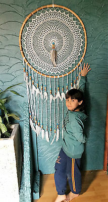 Traumfänger Dreamcatcher el Gigante coiffe indienne Federhaube Jerome Collection