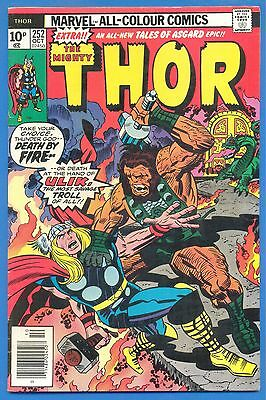 The Mighty Thor.number 252.october 1976.marvel Comics