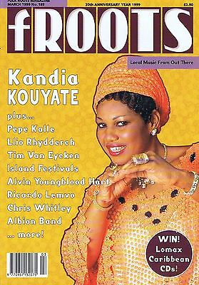 KANDIA KOUYATE / PEPE KALLE / LLIO RHYDDERCH Folk Roots no. 189 Mar 1999