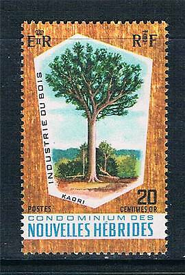 New Hebrides (French) 1969 Timber Industry SG F150 MNH