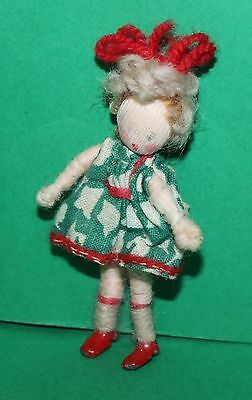 Vintage Dolls House Grecon Girl Doll