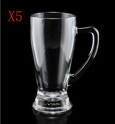 New 5X Capacity 668ML Height 197MM Transparent Beer Wine Glass/Glassware %