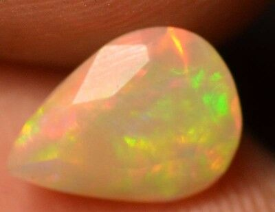 1.02 Cts  Natural Untreated Faceted Ethiopian Welo Fire Opal OF433