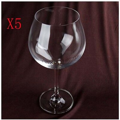 New 5X Capacity 783ML  Height  222MM  Transparent  Red Wine Glass/Glassware %