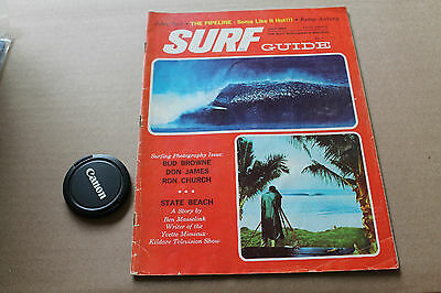 Vintage Surfing SURF GUIDE V.6 May 1964 Magazine Bud Browne Don James Ron Church