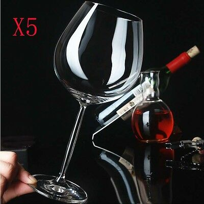 New 5X Capacity  633ML  Height  248MM  Transparent  Red Wine Glass/Glassware %