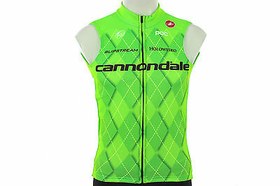 Castelli Team Cannondale Thermal Cycling Vest SMALL Road Mountain