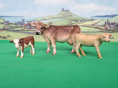 Schleich Dairy Cow and two calves