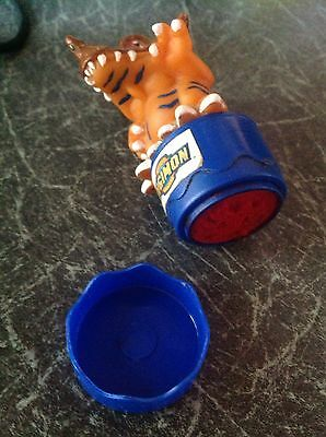 RARE DIGIMON FIGURE APPROX 3in. STAMPER WHICH LIGHTS UP WHEN USED ON A INK PAD.