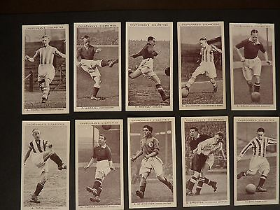 CHURCHMAN - ASSOCIATION FOOTBALLERS - 1ST SERIES - COMPLETE SET - VG to EXC