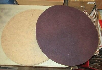 6 Hillyard & 2 3M Industrial Floor Buffer Scrubber Cleaning Pads