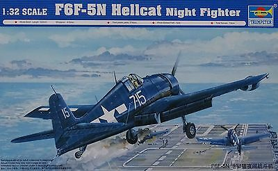 TRUMPETER® 02259 F6F-5N Hellcat Night Fighter in 1:32