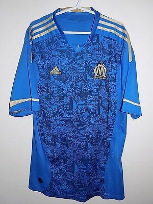 marseille away football shirt by adidas