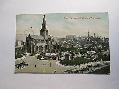 Postcard of Glasgow Cathedral and Neoropolis (posted)