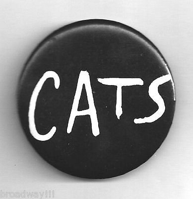 "Betty Buckley ""CATS"" Andrew Lloyd Webber 1982 Broadway Promotional Pinback"