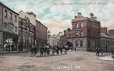 h northern ireland postcard ulster irish armagh post office
