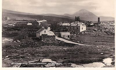 h irish postcard ireland donegal bunbeg village