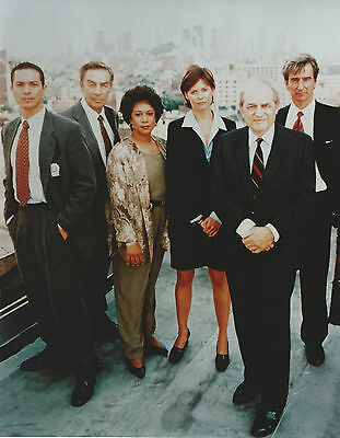 Law & Order Cast 8 X 10 Photo With Ultra Pro Toploader