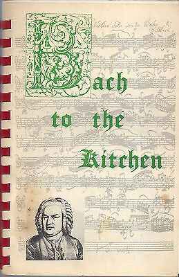 Washington Dc 1979 National City Christian Church Cook Book *bach To The Kitchen