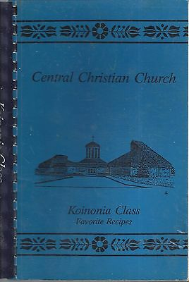 *huntington In 1995 Central Christian Church Cook Book *indiana Community *rare