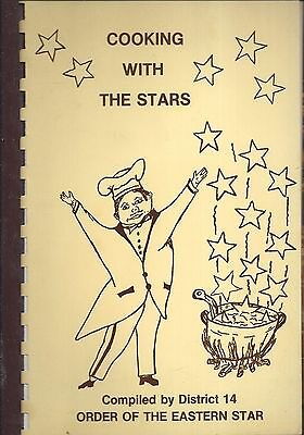 *fort Wayne In 1987 Cooking With *order Of The Eastern Star Cook Book *oes *rare