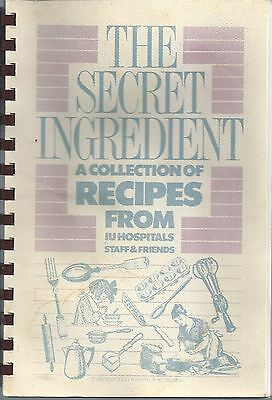 *indianapolis In Vintage Indiana University Children's Hospital Cook Book *staff