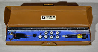 Vintage Unitech Drafting Tool Mechanical Lettering Set #42-1503 Japan