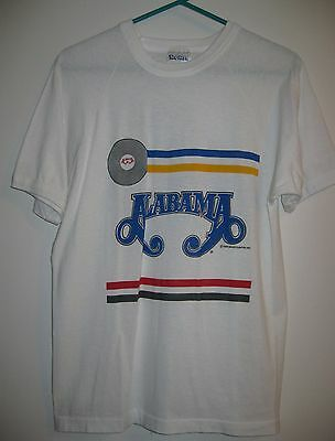 T-Shirt ALABAMA BAND Just Us copyright 1987 Wild Country, Inc L see measurements