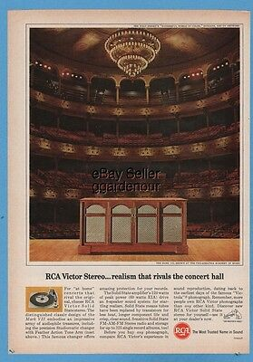 1965 RCA Victor Mark VII console stereo Philadelphia Academy of Music vintage ad