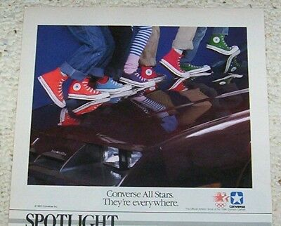 1983 advertising - Converse All Star canvas color shoes VINTAGE print AD