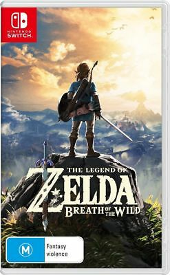 Legend Of Zelda Breath Of The Wild Nintendo Switch New!