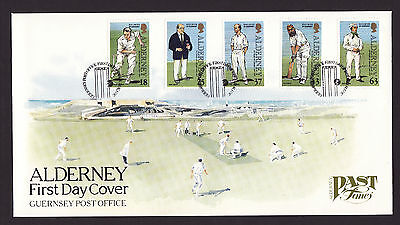 1997 Alderney, Cricket, First Day Cover