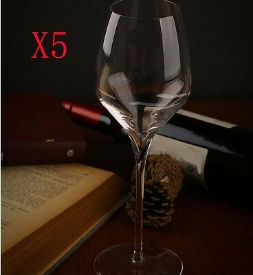 New 5X Capacity 450ML Height 260MM High Foot White Wine Glass/Glassware %
