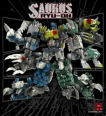 Transformers Fansproject Saurus Ryu-Oh aka Dinoking