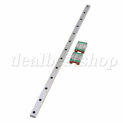 50CM MGN15 Guide Rail Sliding Rail + Block for Precise Measure set