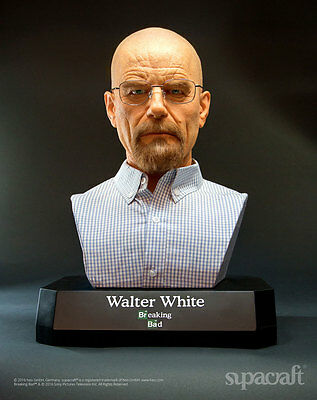 Supercraft Breaking Bad Life-Size Büste Walter White 54 cm   Life size Bust 1:1