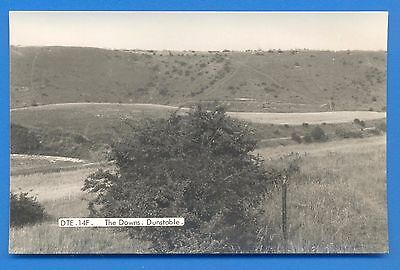 The Downs,dunstable.bedfordshire.friths Rp Postcard