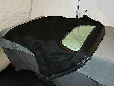 Bmw Z4 E85 Roadster 2003 + Hood/soft Top/roof With Glass Screen - Black