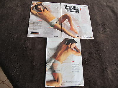 Calvin Klein Men Underwear Print Ads ,clippings 2010